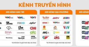 Danh sách kênh gói truyền hình