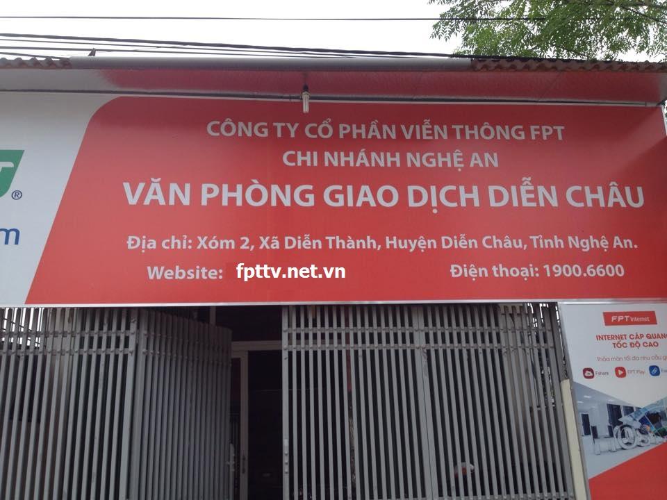 Chi nhánh FPT Diễn Châu Nghệ An