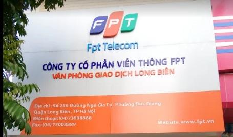 Địa chỉ công ty cổ phần viễn thông FPT chi nhánh Long Biên