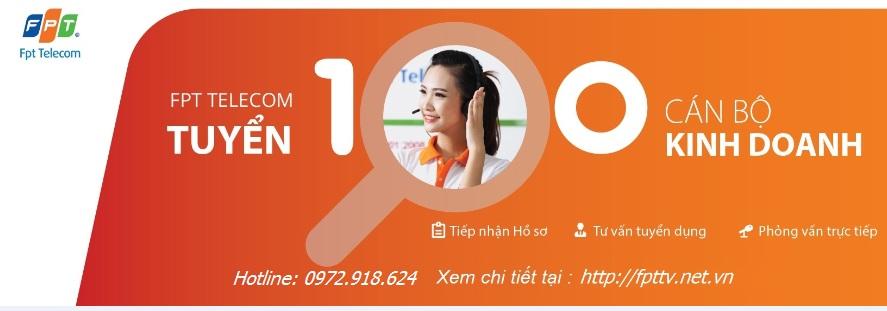 Tuyển Dụng Nhân Viên Kinh Doanh FPT Long Biên, Gia Lâm
