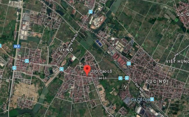 Địa chỉ cty FPT Đông Anh trên Googlemap