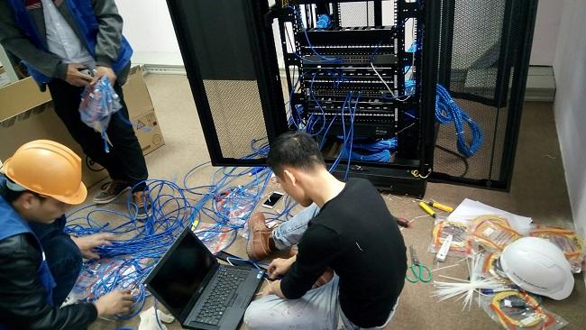 Thi Công Lắp Đặt Hệ Thống Lan Wifi