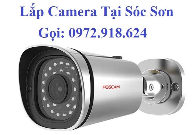 Lắp Camera Sóc Sơn Hà Nội
