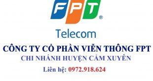 Lắp Mạng Wifi FPT huyện Cẩm Xuyên Hà Tĩnh
