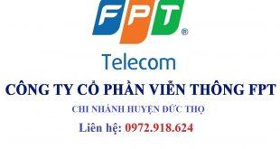 Lắp mạng wifi FPT huyện Đức Thọ