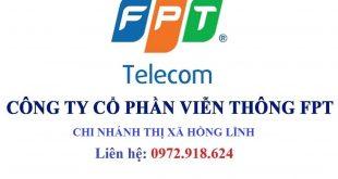Lắp mạng wifi FPT thị xã Hồng Lĩnh Hà Tĩnh