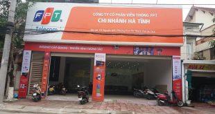 Văn phòng giao dịch FPT Telecom TP Hà Tĩnh tại 115 Nguyễn Biểu